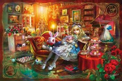 Alice in the library