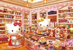 Hello Kitty's candy store