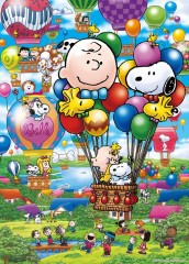 Snoopy's balloon flight
