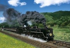 Old-time steam journey (Yamaguchi)