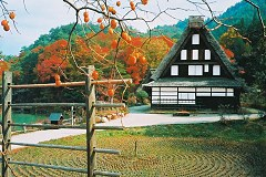 Shirakawa - late autumn