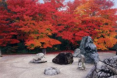 Jissou-in pebble garden