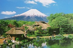 Mt. Fuji from Oshino