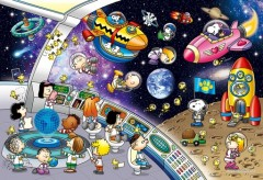 Snoopy's space travel