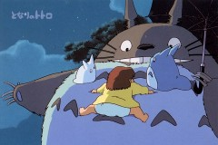 Totoro - Hold tight!