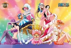 Chopper and the One Piece heroines