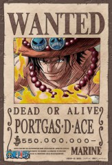 Wanted: Portgas D Ace