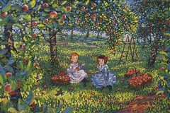 In the orchard (Anne of Green Gables)