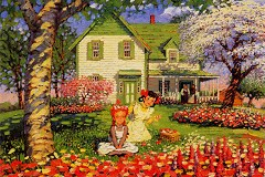 Flower time (Anne of Green Gables)