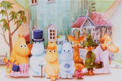 Friends from Moominvalley