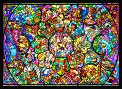 All-star stained glass