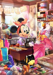 Minnie's sewing workshop