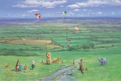 Spring kite-flying days