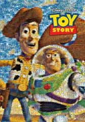 Woody and Buzz mosaic