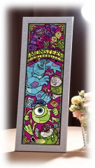 Monsters University stained glass