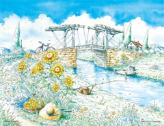 Van Gogh's bridge