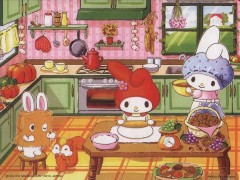 My Melody Cooking with Mama