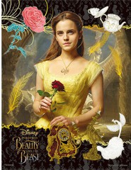 Belle and the red rose